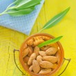 Almond in a bowl — Stock Photo #31538551