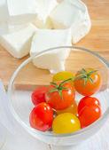 Feta and tomato — Stock Photo