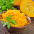 Grated pumpkin — Stockfoto