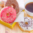 Various donuts — Stock Photo