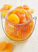 Dry apricots — Stock Photo