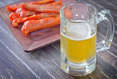Snack for beer — Stock Photo