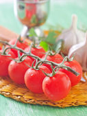 Ingredients for sauce — Stock Photo