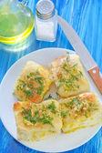 Bolos em um prato — Fotografia Stock
