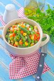 Warzywa wymieszać — Zdjęcie stockowe
