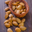 Almond in the basket — Stock Photo #32842153