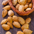 Almond in the basket — Stock Photo #32842167