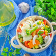 Mix vegetables — Stock Photo