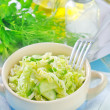 Salad with cabbage — Stok Fotoğraf #33586665