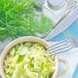Salad with cabbage — Stok Fotoğraf #33586671