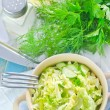 Salad with cabbage — Stok Fotoğraf #33586697