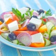 Greek salad — Foto de stock #33586913
