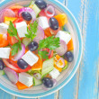 Greek salad — Foto de stock #33586931