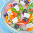 Greek salad — Foto de stock #33586947