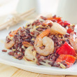 Fried rice with shrimps — Stok Fotoğraf #33586971
