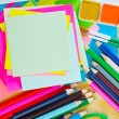 school supplies&quot — Stock Photo #33907051