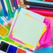 schoolsupplies — Stockfoto