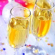 Champagne flutes — Stock Photo #34337493