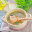 Fresh soup — Stock Photo #34629707