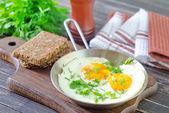 Smažená vejce — Stock fotografie