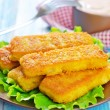 Fried fish — Stock Photo #34692561