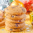 Cookies and christmas decoration — Stock Photo #34963951