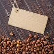 Coffee and cardboard — Stockfoto