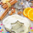 Baking background — Stock Photo