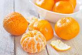 Mandarins in a bowl — Stock Photo