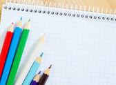 útiles escolares — Foto de Stock