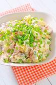 Salad olivier — Stock Photo