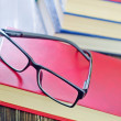 Glasses and books — Stock Photo #38060577