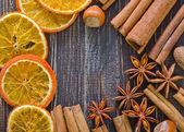 Spezie aromi — Foto Stock