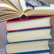 Stack of books — Stock Photo #38191385