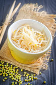 Sprouts in a bowl — Stock Photo