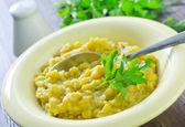 Mashed peas — Stock Photo