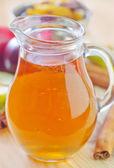 äppeljuice — Stockfoto