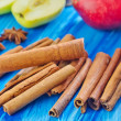 Cinnamon and apples — Stock Photo #40414949