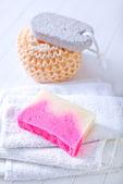 Banyo nesneleri — Stok fotoğraf