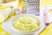 Grated marrow — Stock Photo