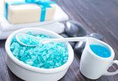 Sal azul — Foto de Stock