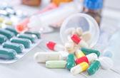 Color pills — Stock Photo