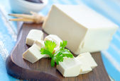 Tofu cheese — Stock Photo