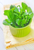 Salad in a bowl — Stock Photo