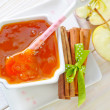 Apple jam — Stock Photo