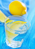 Water with lemons — 图库照片
