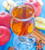 Apple juice — Stock fotografie