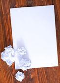 用铅笔纸 — 图库照片