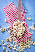 Raw beans — Stock Photo