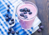 Blueberry yogurt — Foto de Stock